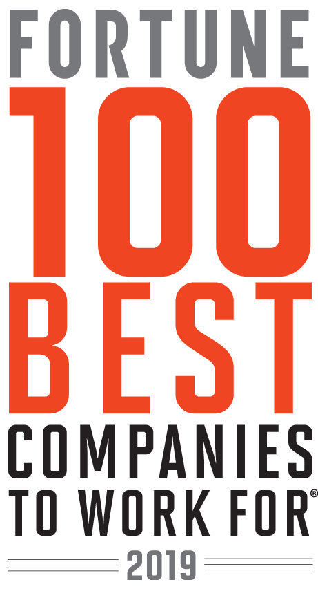 Fortune 100 Best Companies to Work For - 2019