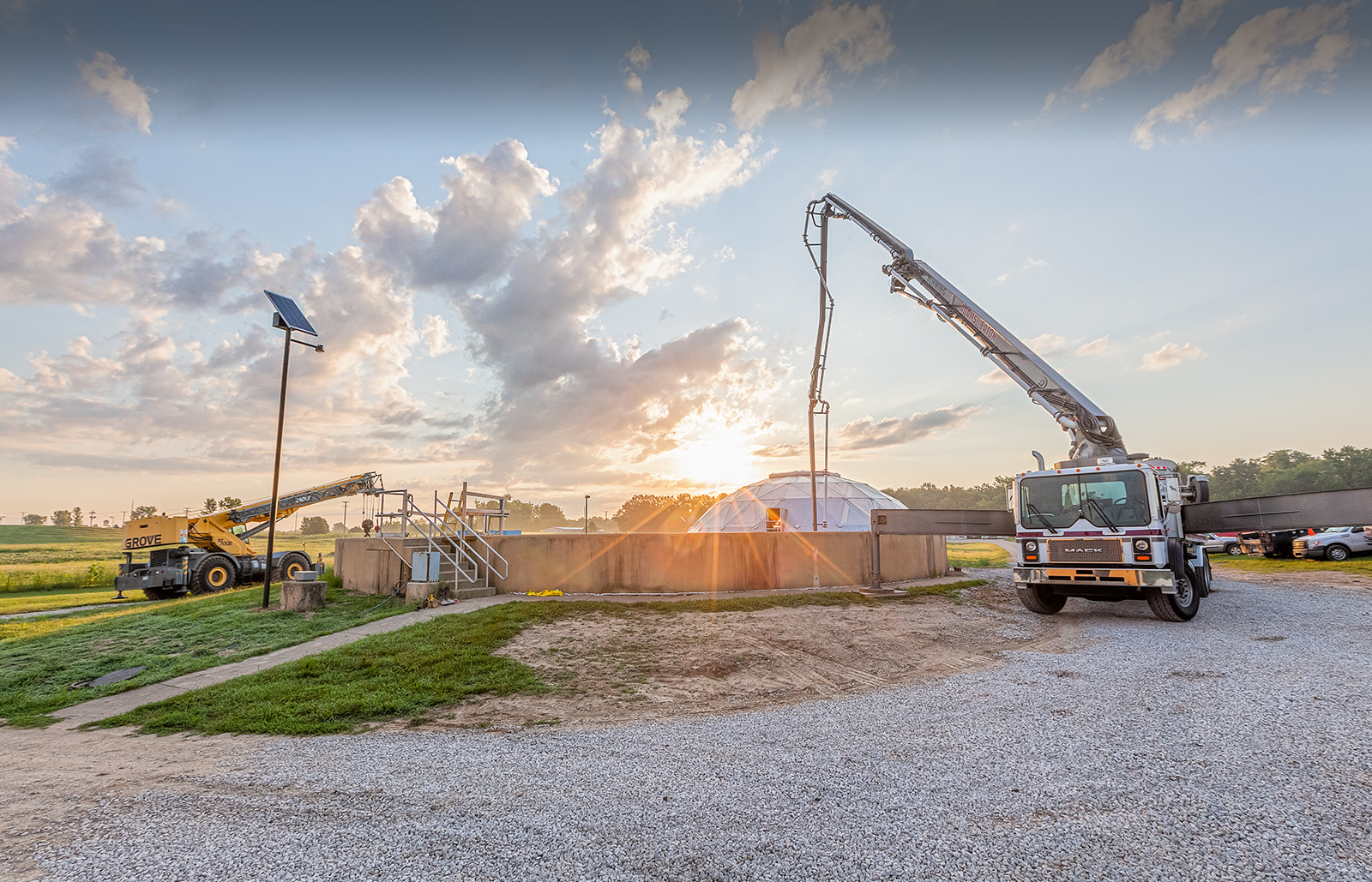 Harrisonville Wastewater Treatment Plant Case Study, Burns & McDonnell