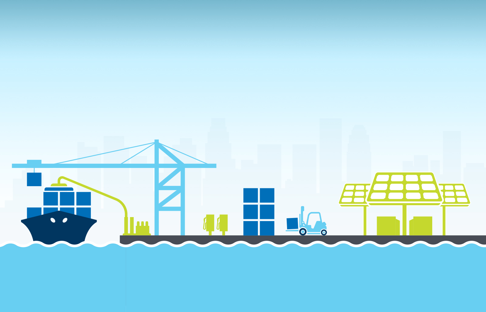 Smart Seaports and Renewable Microgrids, Burns & McDonnell