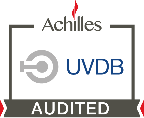 Achilles UVDB Audited Stamp