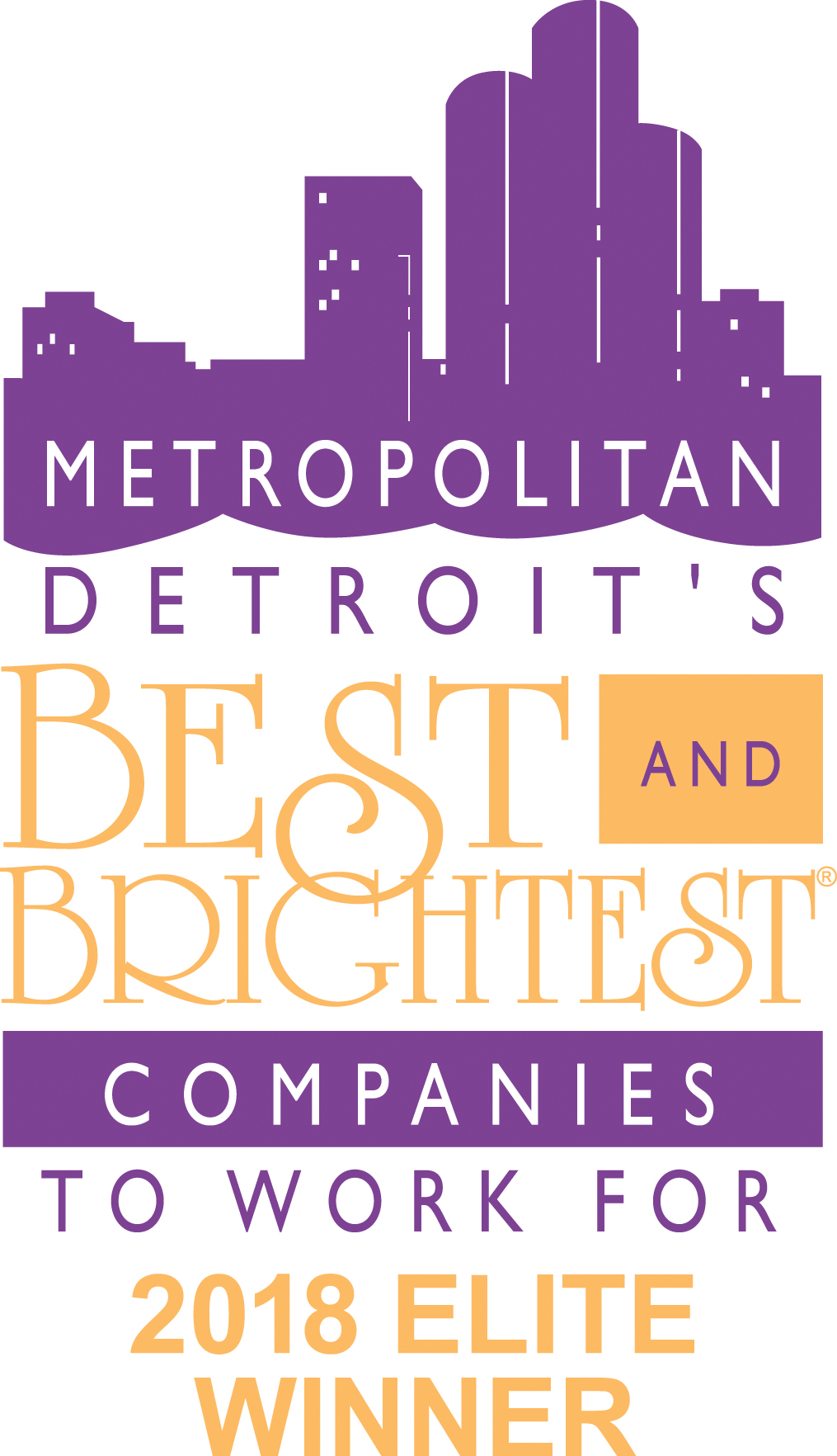 Metropolitan Detroit's Best and Brightest Companies to Work For - 2018 Elite Winner