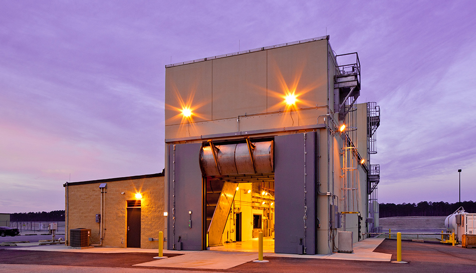 Jet Engine Test Cell Meridian Projects Burns Amp Mcdonnell