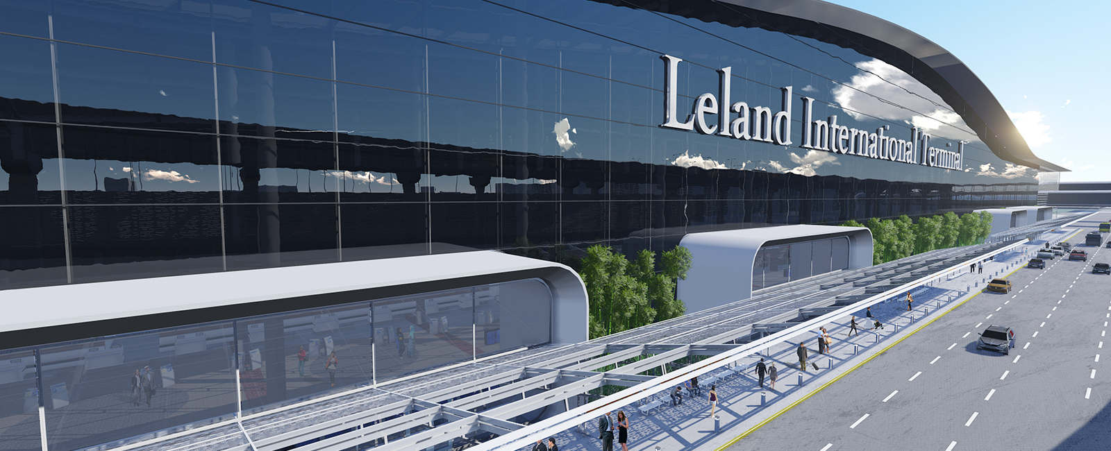 Mickey Leland International Terminal Projects Burns