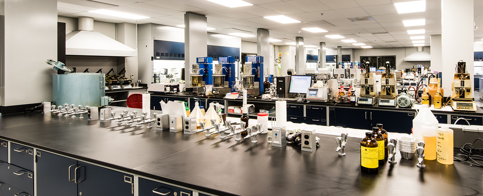 Quality Control Laboratory And Office Building Projects